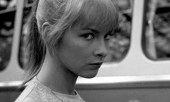 Polska i radziecka aktorka Barbara Brylska w filmie Bumerang, 1966 rok  - Sputnik Polska