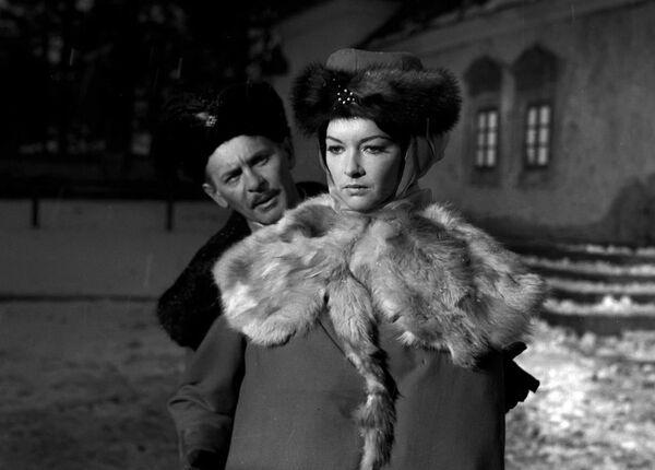 Barbara Brylska w filmie Pan Wołodyjowski jako Krzysia, 1969 rok - Sputnik Polska