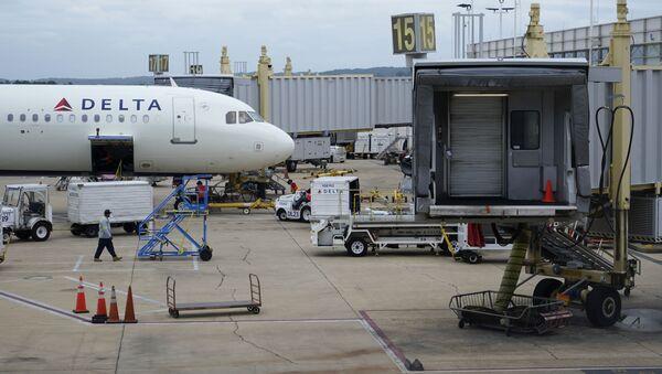 Samolot linii lotniczych Delta Air Lines. - Sputnik Polska