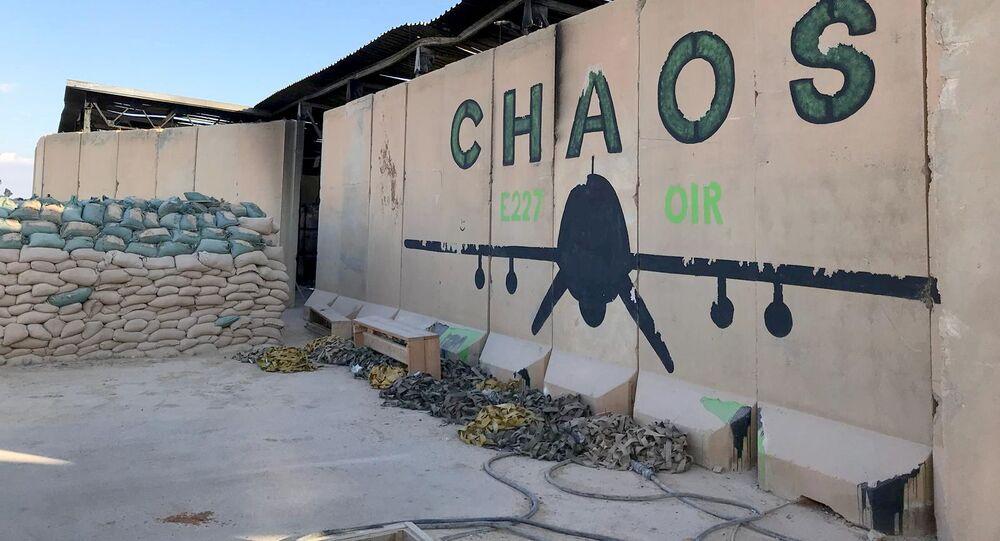 Baza lotnicza Al Asad na zachodzie Iraku.