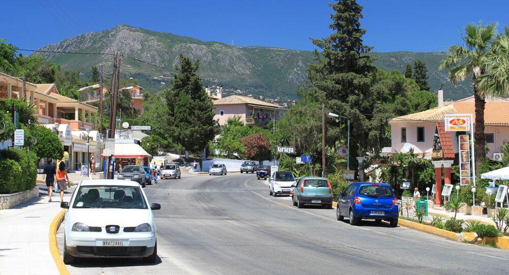 Strzelanina na greckiej wyspie Korfu.