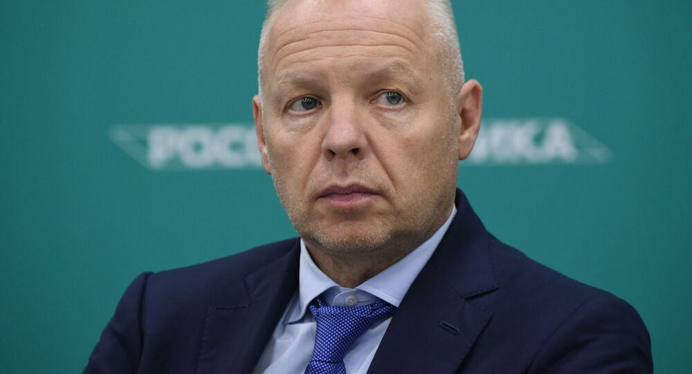"""Przewodniczący Rady Dyrektorów firmy """"Uralchim"""" Dmitrij Mazepin"""