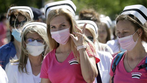 Protest pielęgniarek - Sputnik Polska