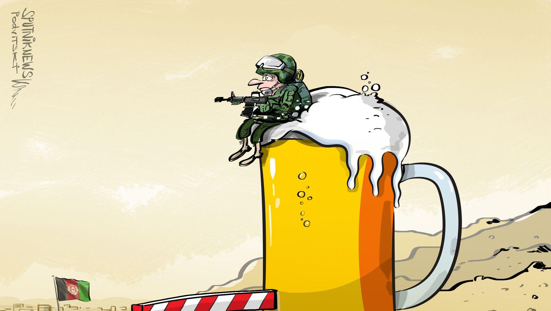 Niemieccy żołnierze wycofują się z Afganistanu - Sputnik Polska, 1920, 08.06.2021