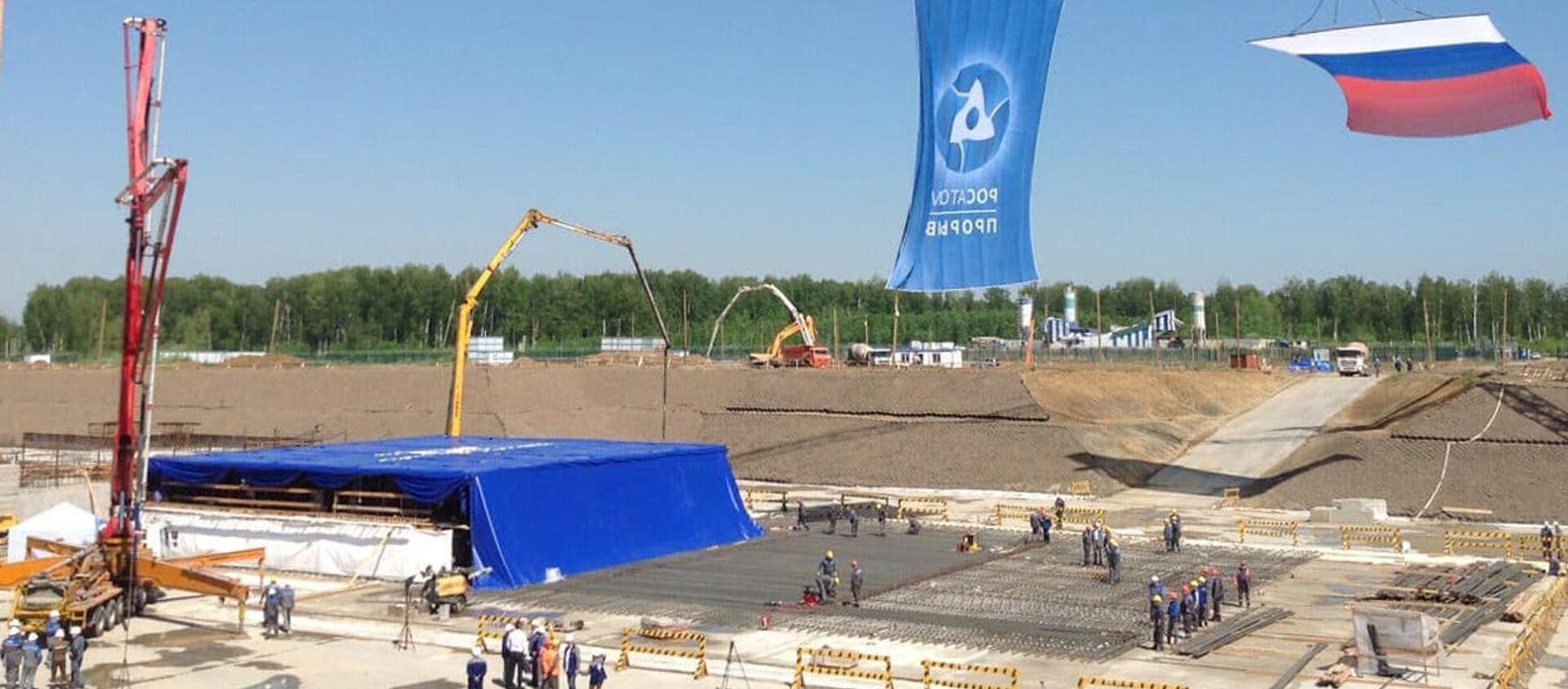 Rozpoczęcie budowy nowego bloku energetycznego BREST-OD-300 w mieście Siewiersk w obwodzie tomskim - Sputnik Polska, 1920, 08.06.2021