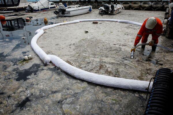Walka ze szlamem na Morzu Marmara w Turcji - Sputnik Polska