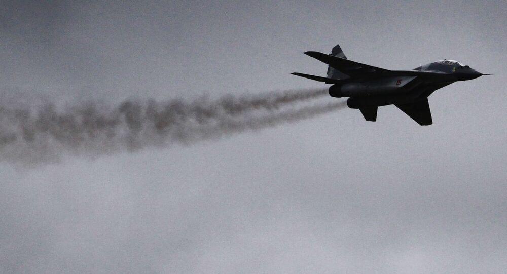 Myśliwiec MiG-29.