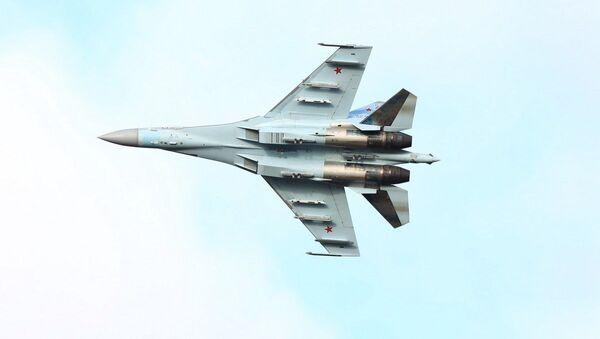 Rosyjski myśliwiec Su-35S. - Sputnik Polska