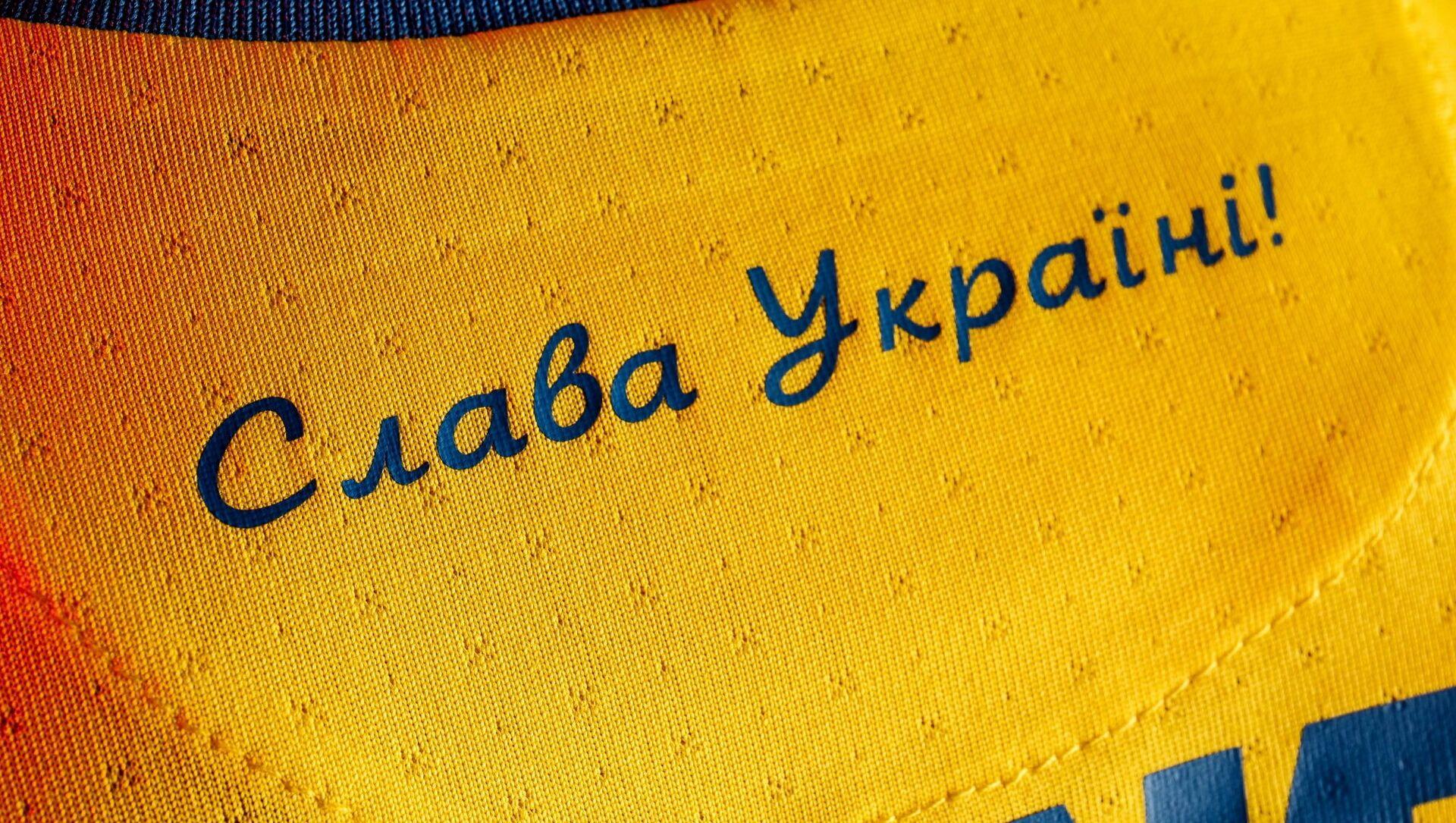 Strój reprezentacji Ukrainy w piłce nożnej na Euro 2020 - Sputnik Polska, 1920, 11.06.2021