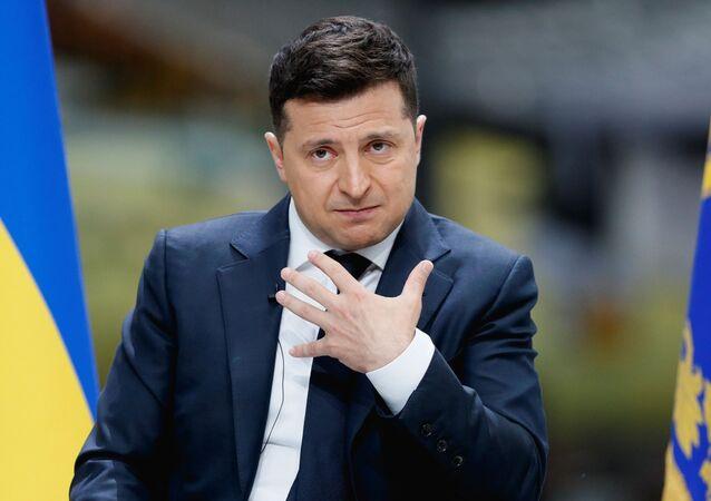 Wołodymyr Zełenski.