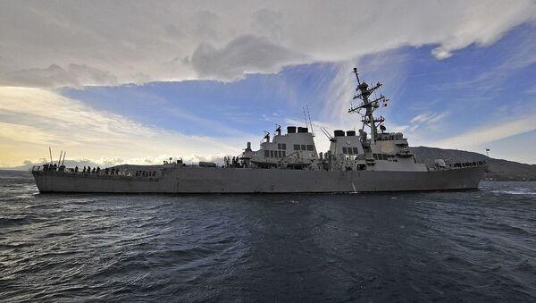 Niszczyciel USS Laboon Marynarki Wojennej Stanów Zjednoczonych - Sputnik Polska