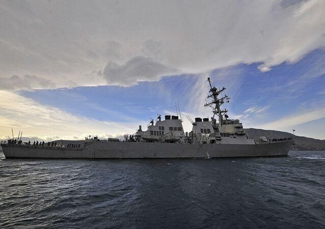 Niszczyciel USS Laboon Marynarki Wojennej Stanów Zjednoczonych