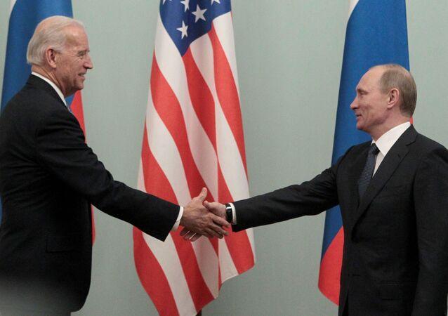 Joe Biden i Władimir Putin, 10 marca 2011 rok