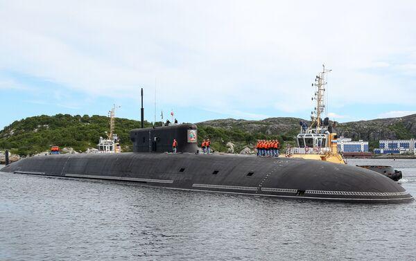 Krążownik podwodny Książę Władimir  - Sputnik Polska
