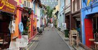 Ulica Haji Lane w Singapurze