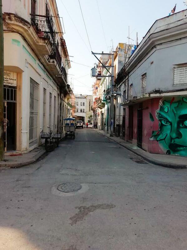 Ulica San Isidro w Hawanie - Sputnik Polska