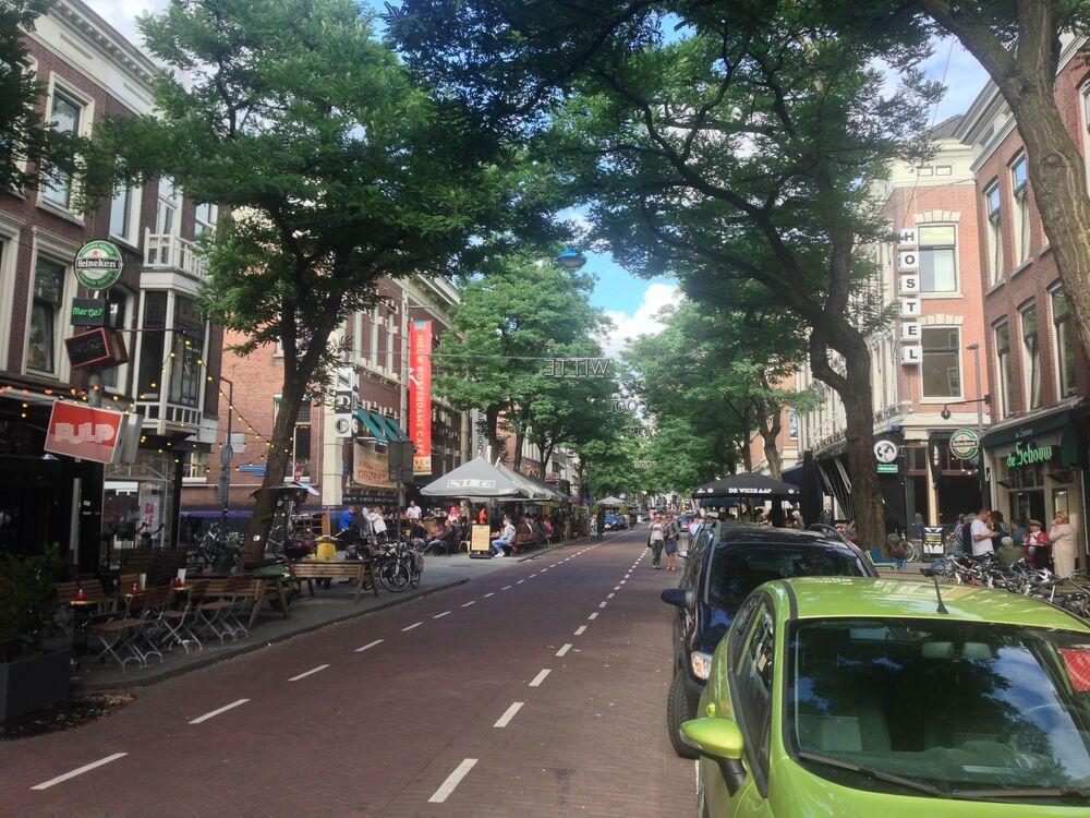 Ulica Witte de Withstraat w Rotterdamie