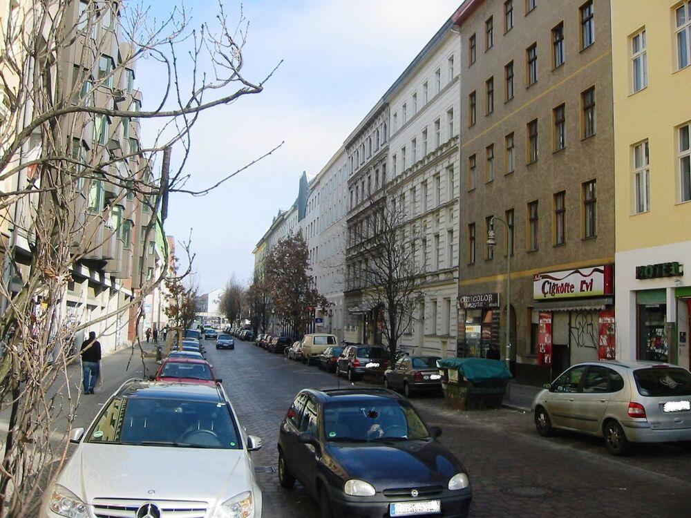 Ulica Mariannenstraße w Berlinie
