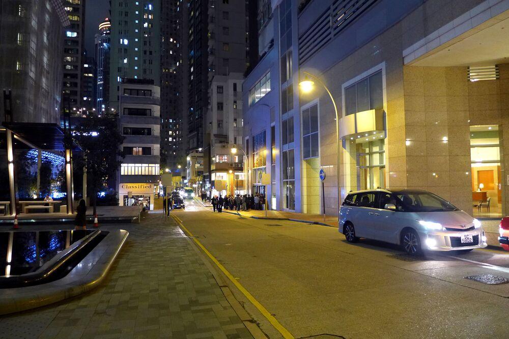 Ulica Star Street w Hongkongu