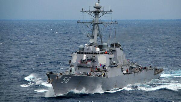 Amerykański niszczyciel USS Laboon  - Sputnik Polska