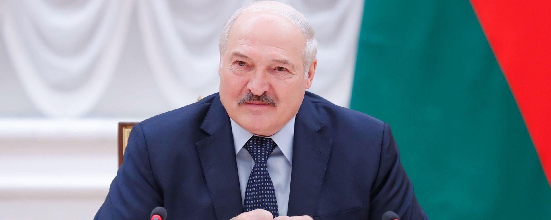 Prezydent Białorusi Aleksandr Łukaszenka. - Sputnik Polska, 1920, 30.07.2021