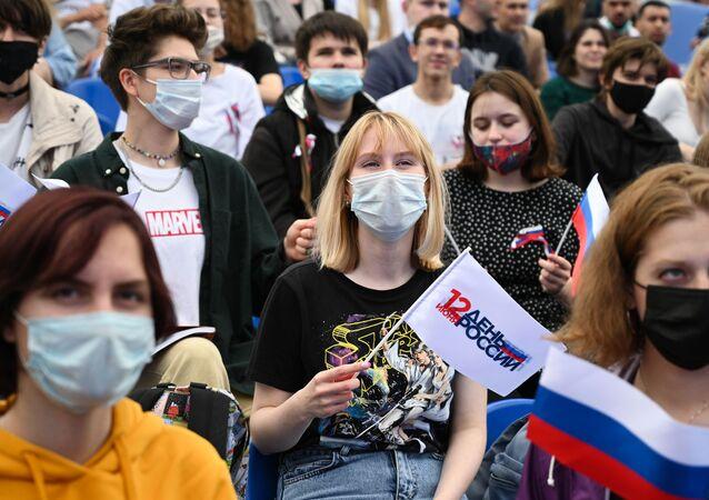 Koncert z okazji Dnia Rosji na Placu Czerwonym