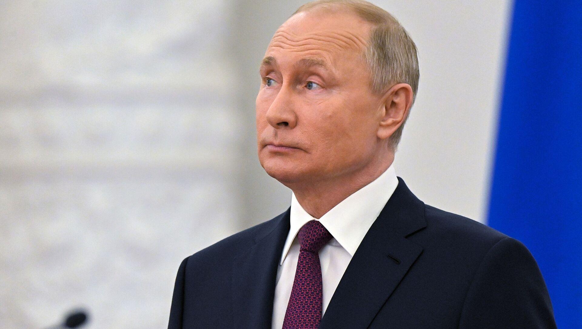 Prezydent Rosji Władimir Putin. - Sputnik Polska, 1920, 13.06.2021