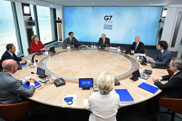 Szczyt G7 w Kornwalii - Sputnik Polska