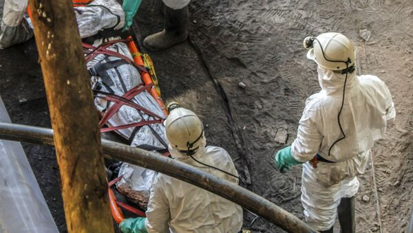 Katastrofa w kopalni węgla w Kolumbii. - Sputnik Polska