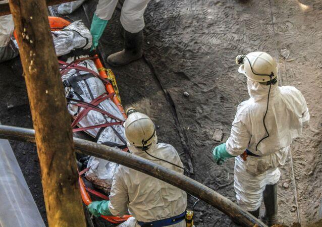 Katastrofa w kopalni węgla w Kolumbii.