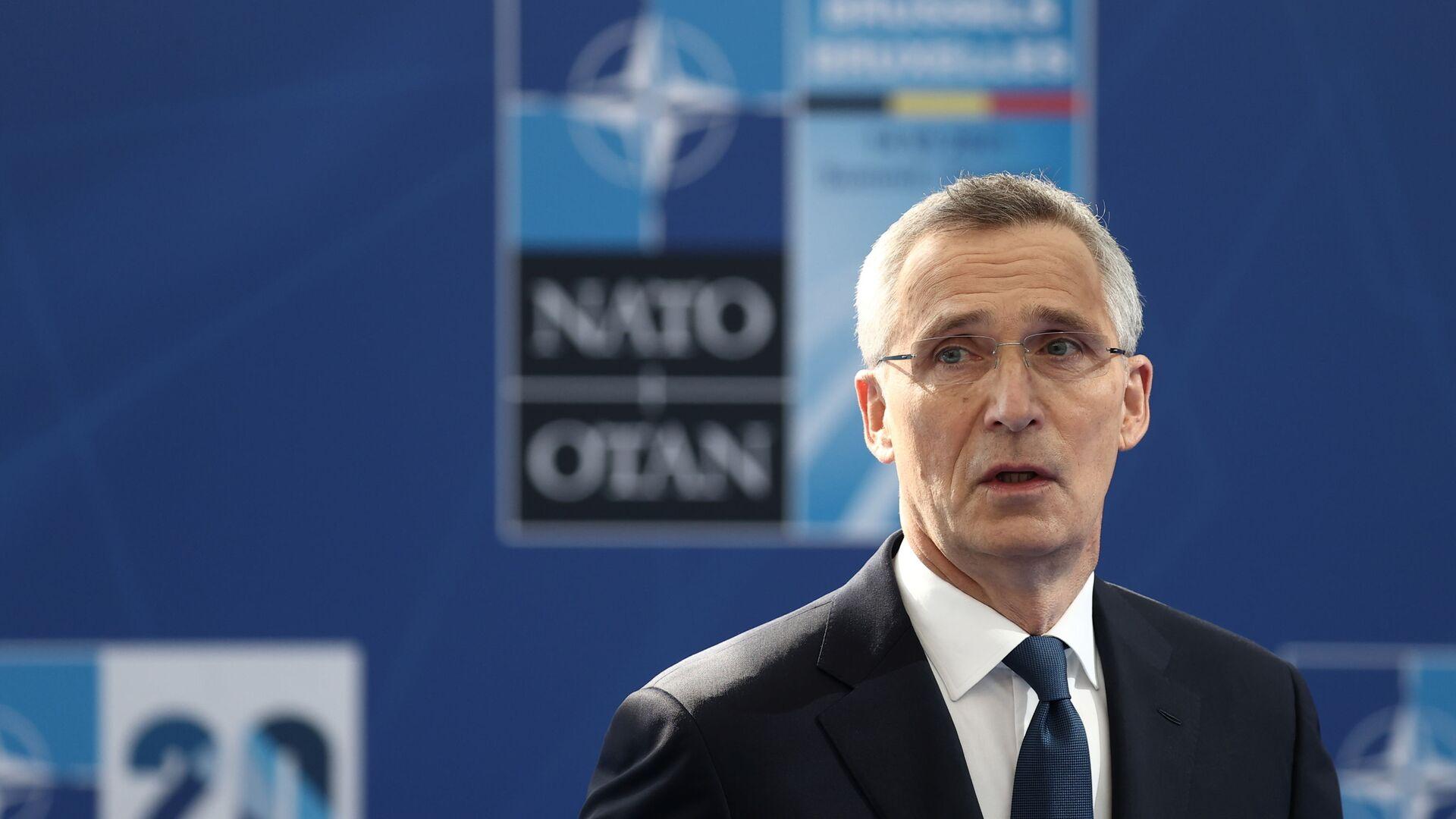 Sekretarz Generalny NATO Jens Stoltenberg - Sputnik Polska, 1920, 16.06.2021