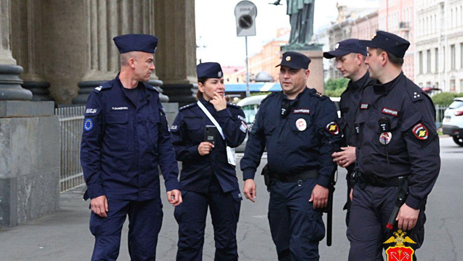 Polscy policjanci w Petersburgu - Sputnik Polska, 1920, 14.06.2021