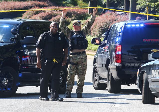 Policja w okręgu DeKalb w stanie Georgia