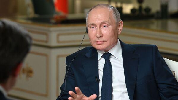 Putin w wywiadzie dla NBC - Sputnik Polska
