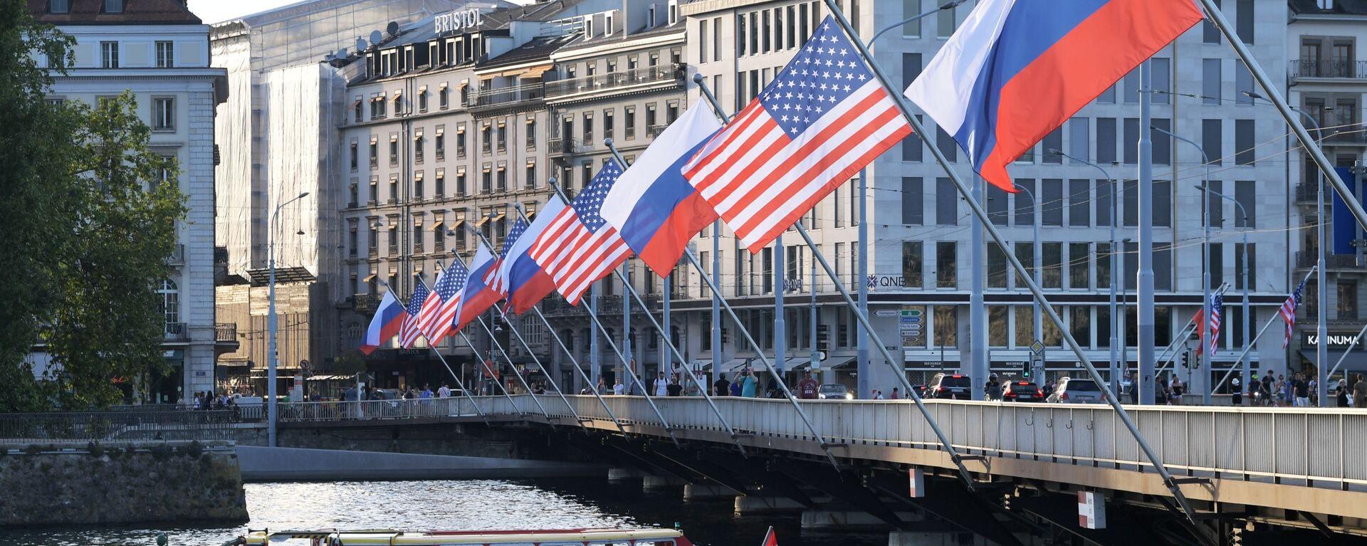 Szczyt Rosji i USA w Genewie 16 czerwca - Sputnik Polska, 1920, 16.08.2021