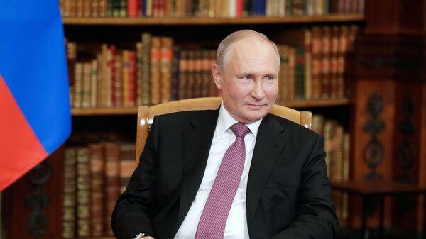 Prezydent Rosji Władimir Putin w Genewie - Sputnik Polska