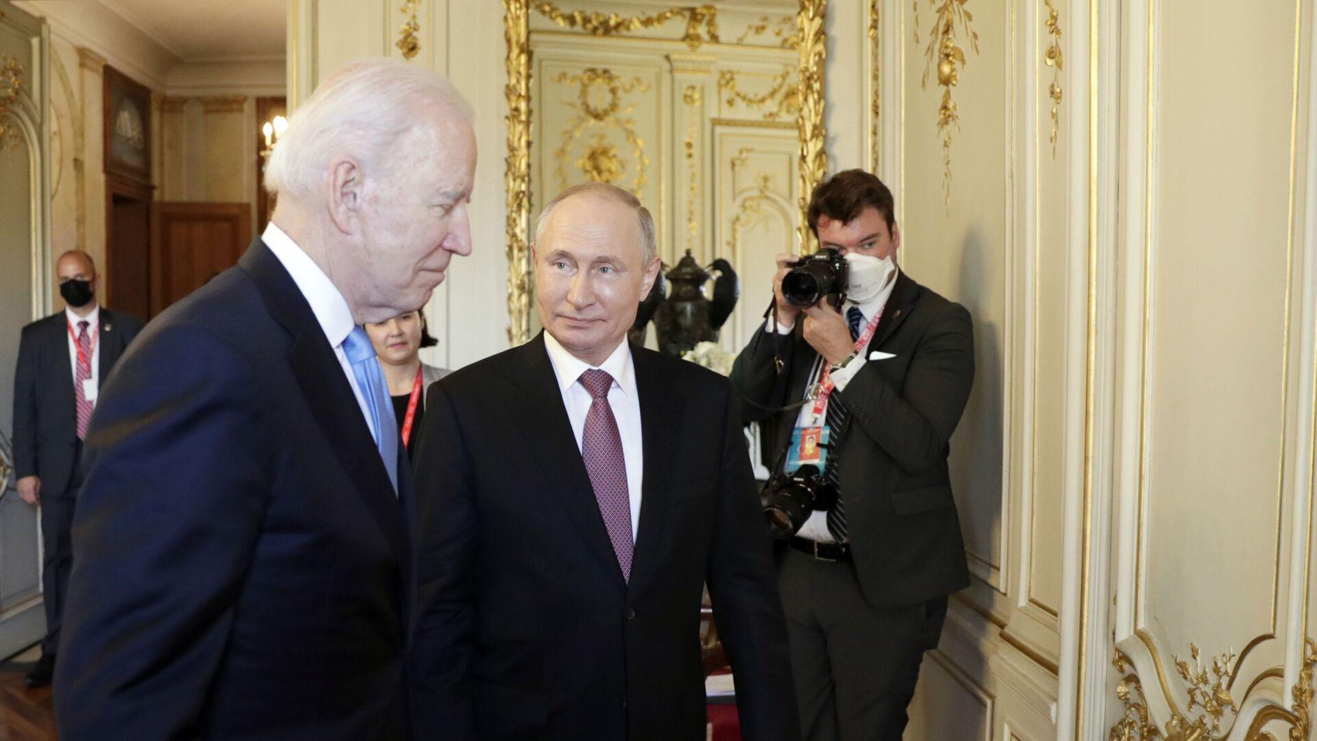 Spotkanie Joe Bidena i Władimira Putina w Genewie - Sputnik Polska, 1920, 17.06.2021