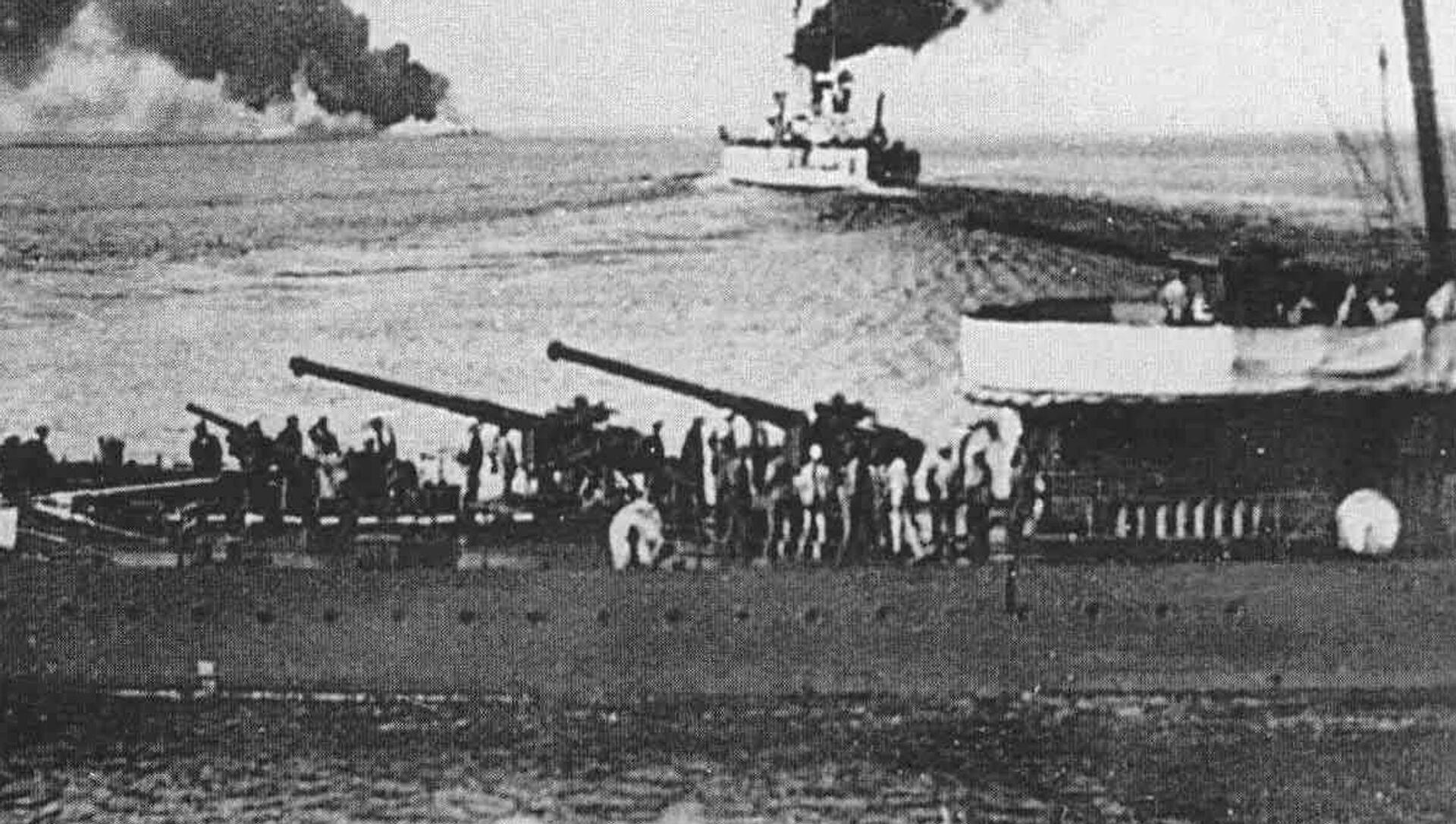 """Pancernik """"Wola"""" wypływa z Noworosyjska do Sewastopola - Sputnik Polska, 1920, 18.06.2021"""