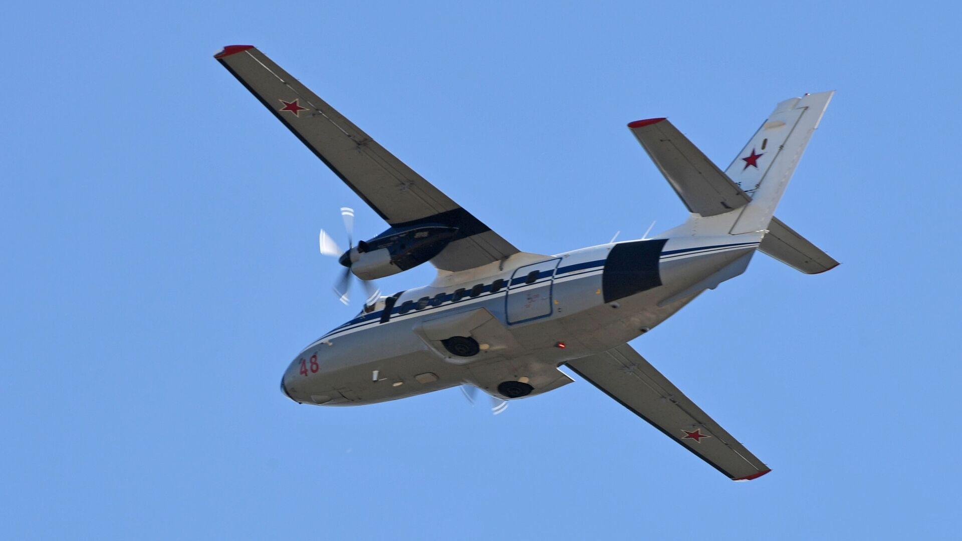 Samolot L-410. - Sputnik Polska, 1920, 19.06.2021