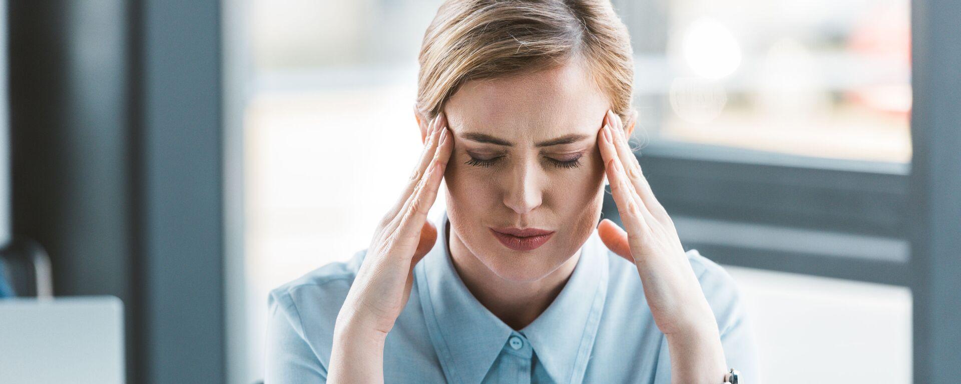 Ból głowy - Sputnik Polska, 1920, 06.08.2021