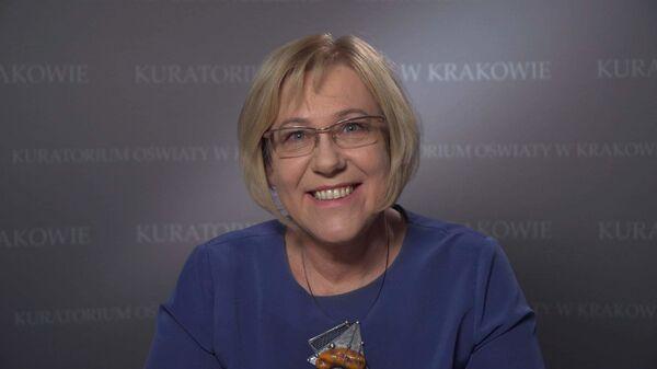 Куратор образования Барбара Новак в Кракове - Sputnik Polska