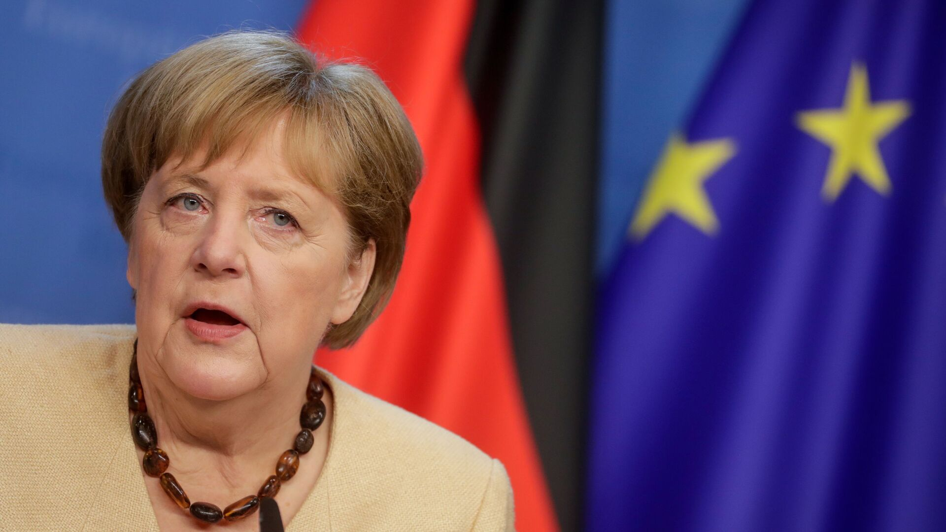 Angela Merkel - Sputnik Polska, 1920, 22.07.2021