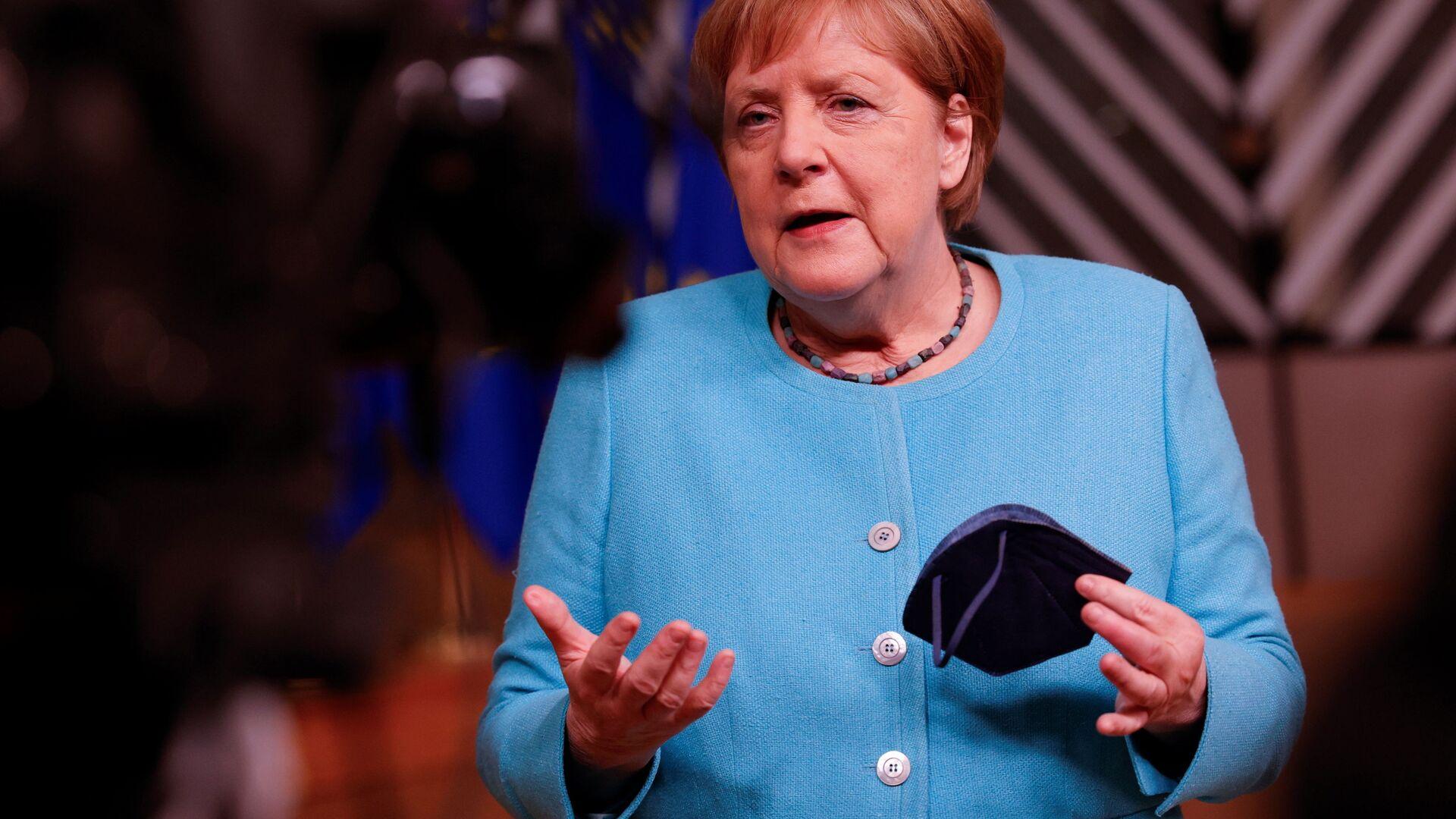 Angela Merkel - Sputnik Polska, 1920, 16.07.2021
