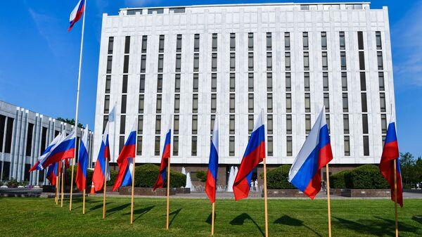 Здание посольства России в Вашингтоне - Sputnik Polska