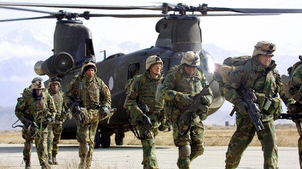 Американские солдаты в Афганистане  - Sputnik Polska