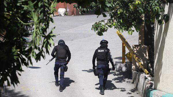 Полиция у дома, где был убит президент Гаити  - Sputnik Polska