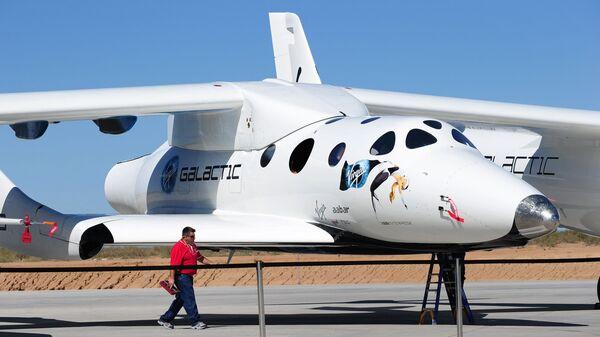 Частный пилотируемый суборбитальный космический корабль многоразового использования SpaceShipTwo - Sputnik Polska