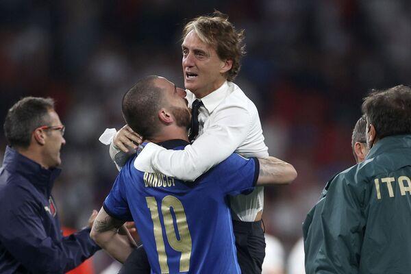 Trener reprezentacji Włoch Roberto Mancini. - Sputnik Polska