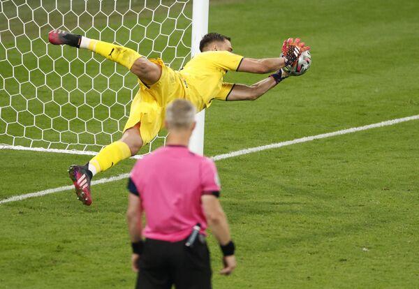 Finał EURO 2020, mecz Włochy-Anglia. - Sputnik Polska