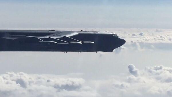 Перехват бомбардировщиков В-52Н ВВС США  - Sputnik Polska